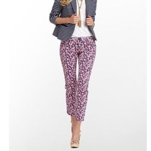 Lily Pulitzer skinny Jeans Candy Hearts